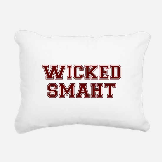 Wicked Smart (Smaht) College Rectangular Canvas Pi
