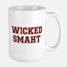 Wicked Smart (Smaht) College Mugs