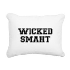 Wicked Smart (Smaht) College Rectangular Canvas Pi