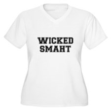 Wicked Smart (Smaht) College Plus Size T-Shirt