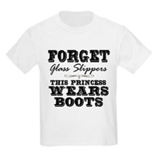 This Princess Wears Boots! T-Shirt