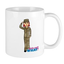 Air Force Camo Light/Red Mug