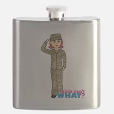 Air Force Camo Light/Red Flask
