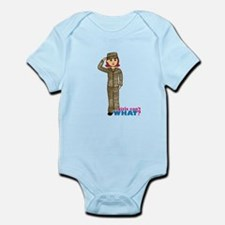 Air Force Camo Light/Red Infant Bodysuit