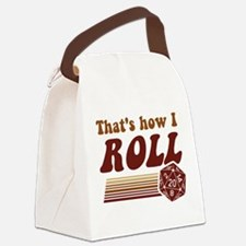 Thats How I Roll Fantasy Gaming d20 Dice Canvas Lu