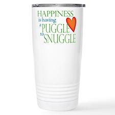 Unique Puggle Travel Mug