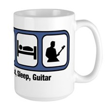Eat, Sleep, Guitar Mugs