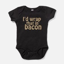 Id Wrap That In Bacon Baby Bodysuit