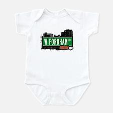 W Fordham Rd, Bronx, NYC Infant Bodysuit