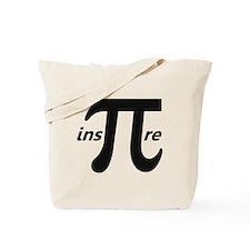 Inspire Inspirational Pi Symbol Tote Bag