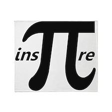 Inspire Inspirational Pi Symbol Throw Blanket