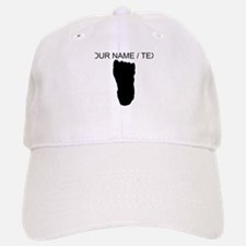 Custom Bigfoot Footprint Silhouette Baseball Baseball Baseball Cap