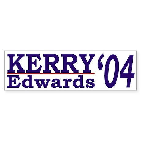 Kerry-Edwards 2004 (bumper sticker)