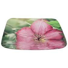 Orchid Water Reflection Bathmat