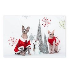 Happy Holidays 106 Postcards (Package of 8)