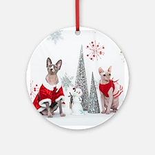 Happy Holidays 106 Ornament (Round)