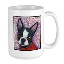 Boston Terrier Peggy Mug