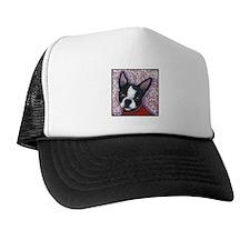 Boston Terrier Peggy Trucker Hat
