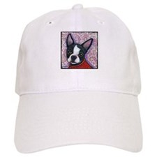 Boston Terrier Peggy Baseball Cap