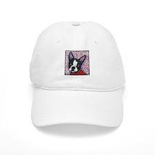 Boston Terrier Peggy Baseball Cap
