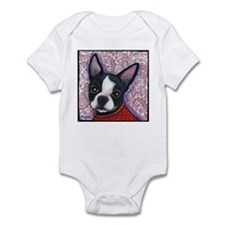 Boston Terrier Peggy Infant Bodysuit
