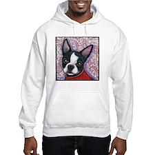 Boston Terrier Peggy Hoodie Sweatshirt