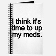 I think its time to up my meds. Journal