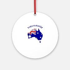 Newcastle, Australia Ornament (Round)