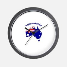 Newcastle, Australia Wall Clock