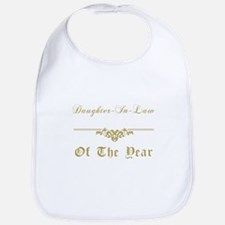 Daughter-In-Law Of The Year Bib