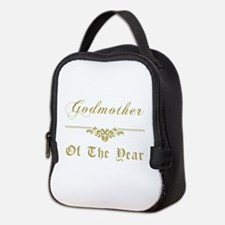 Godmother Of The Year Neoprene Lunch Bag
