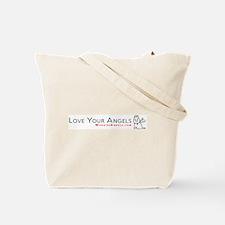 White Horse Winter Tote Bag