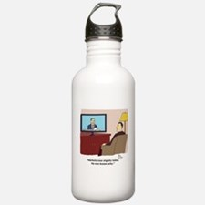 markets rose Water Bottle