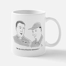 hostile takeovers Mugs