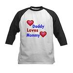 DADDY LOVES MOMMY Baseball Jersey