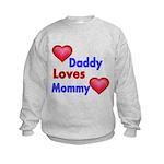 DADDY LOVES MOMMY Sweatshirt