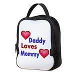 DADDY LOVES MOMMY Neoprene Lunch Bag