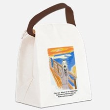 Munch screams Canvas Lunch Bag