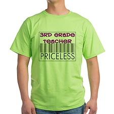 Third Grade Teacher Priceless T-Shirt