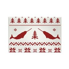Ugly Narwhal Christmas Sweater Magnets
