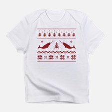 Ugly Narwhal Christmas Sweater Infant T-Shirt