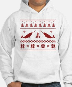 Ugly Narwhal Christmas Sweater Hoodie