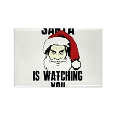Big Brother Santa Claus Is Watching You Magnets