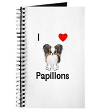 I Love Papillons (pic) Journal