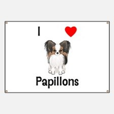 I Love Papillons (pic) Banner