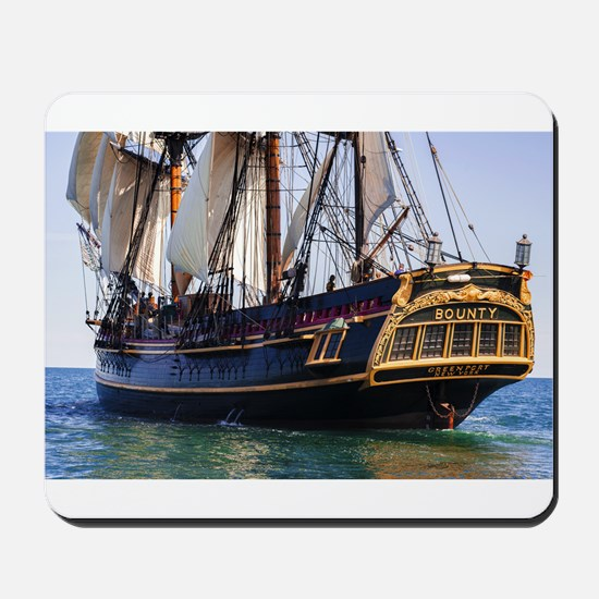 HMS Bounty Tall Ship Mousepad