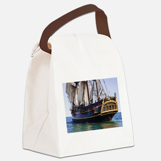 HMS Bounty Tall Ship Canvas Lunch Bag