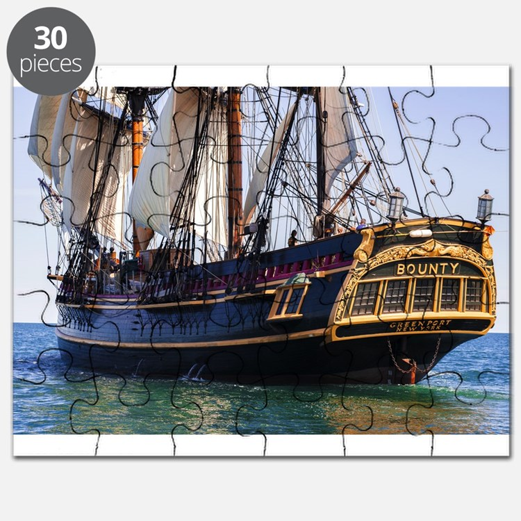 HMS Bounty Tall Ship Puzzle