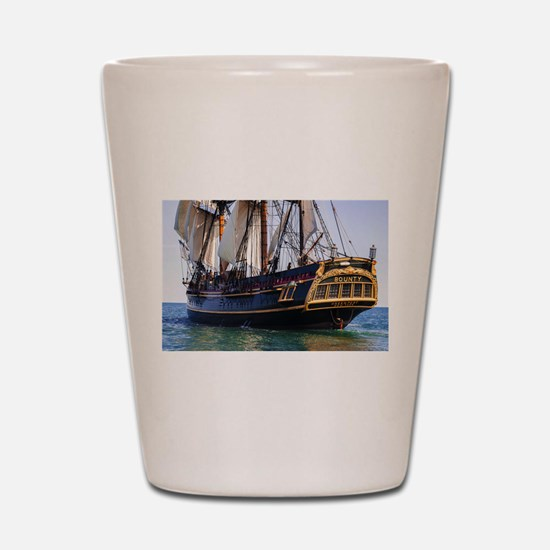 HMS Bounty Tall Ship Shot Glass