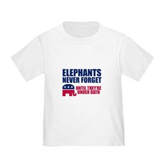 ELEPHANTS NEVER FORGET T